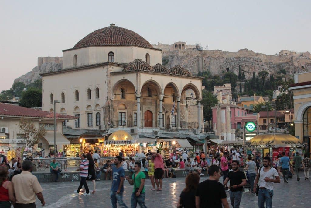 Athenes le Quartier Monastiraki