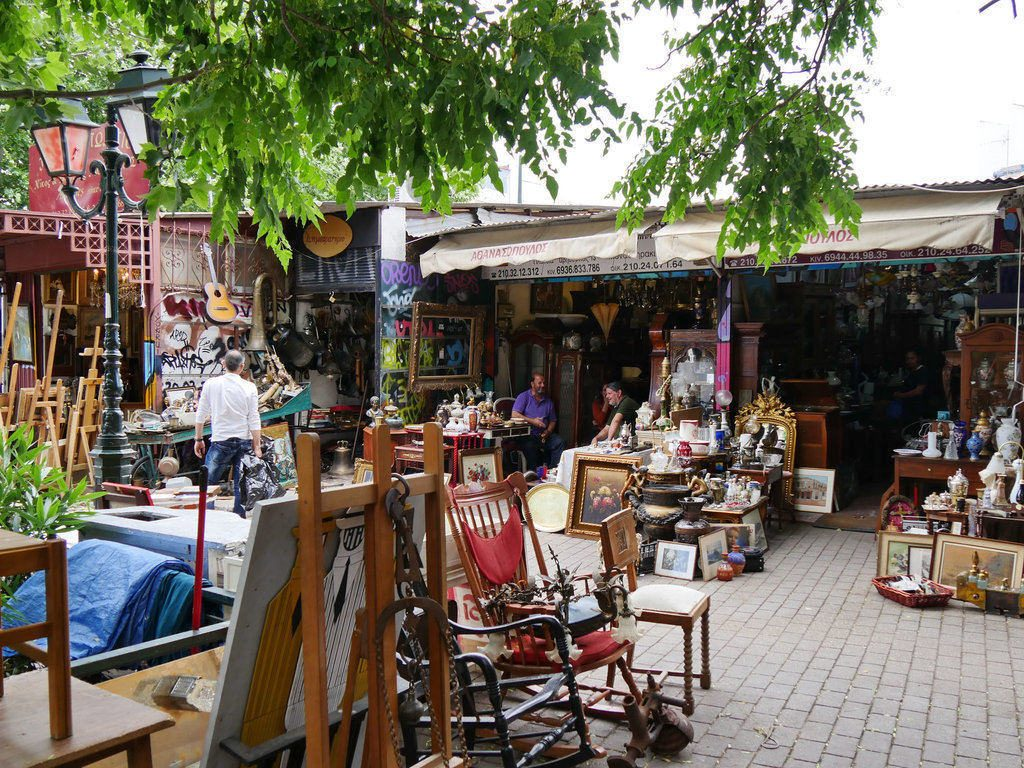 Athènes le charmant quartier Plaka