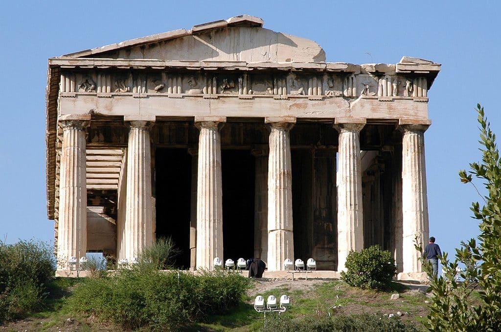 visiter Athenes et le Temple Hephaisteion