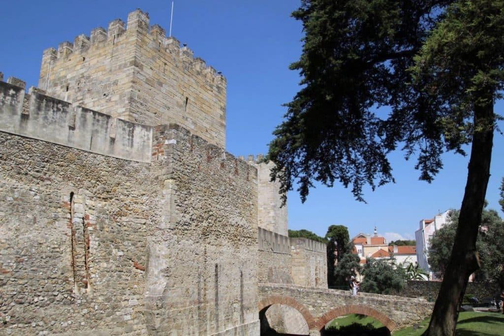 visiter lisbonne chateau st georges