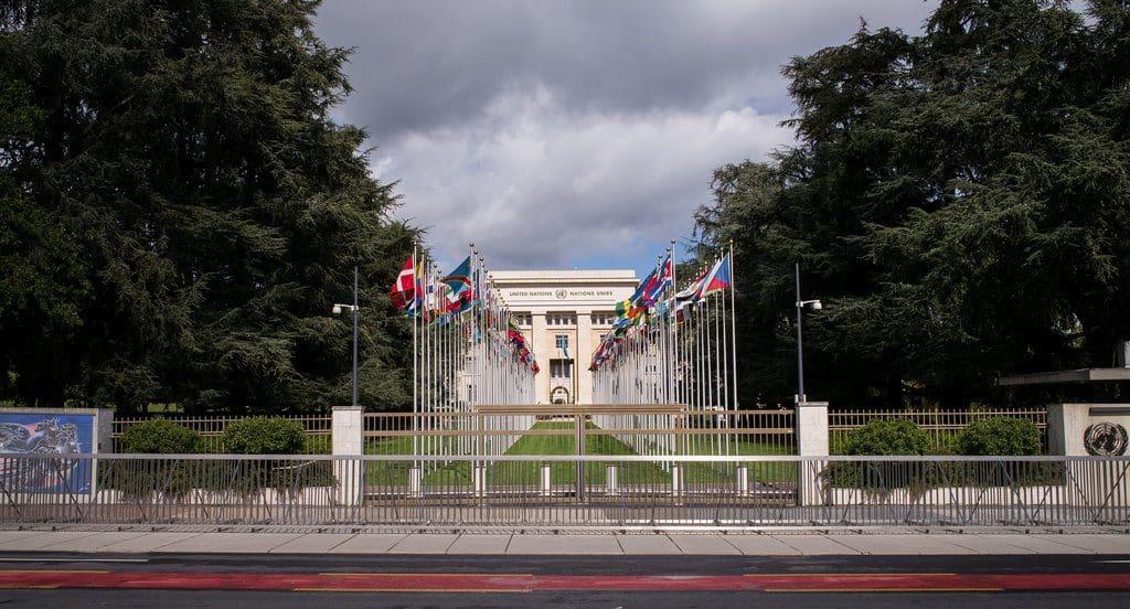 Visiter Geneve le solennel palais des Nations