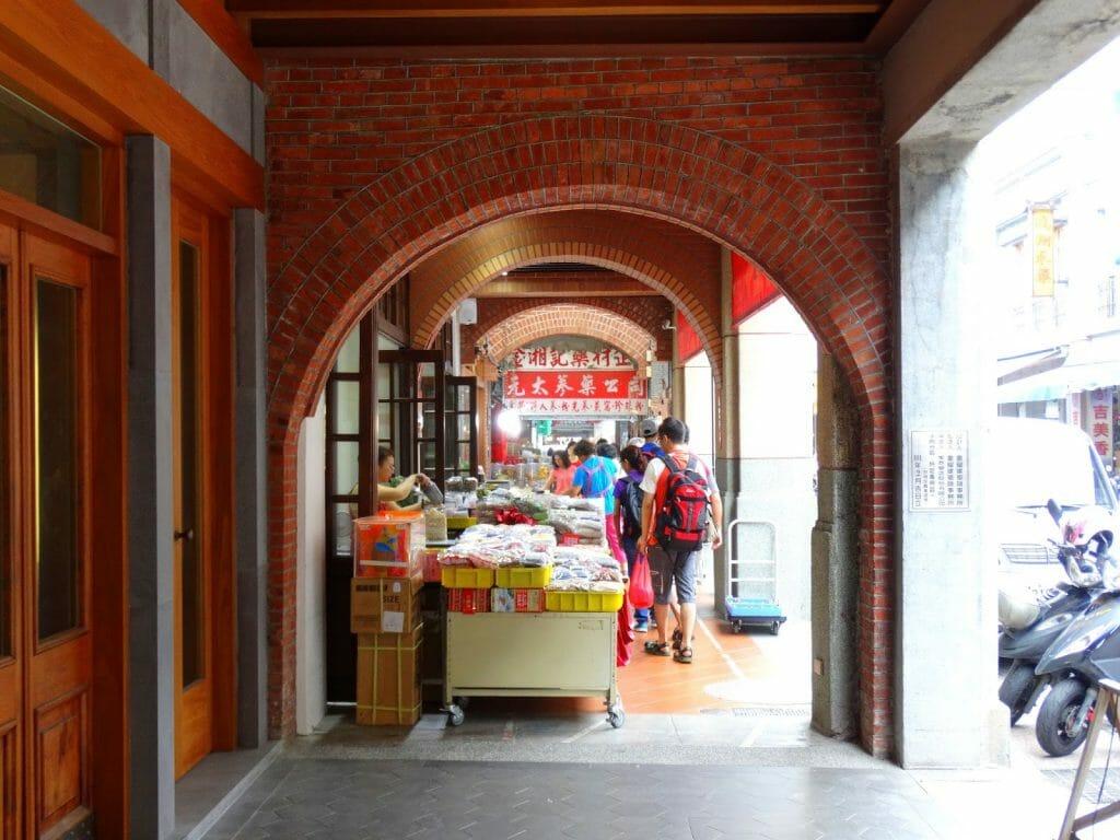 rue Dihua Taipei