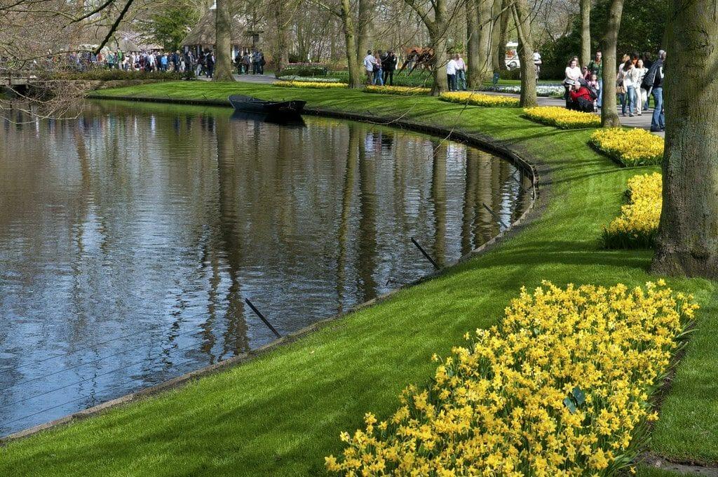 visiter jardin keukenhof amsterdam