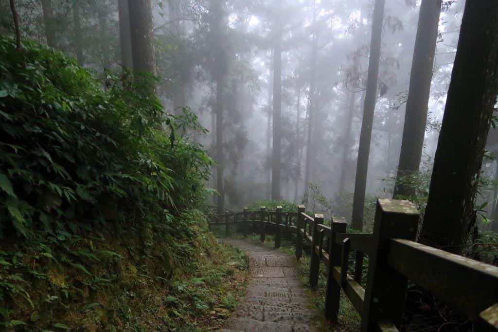 voyage a Taiwan randonnee