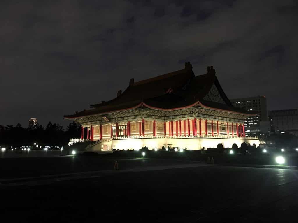 Voyage a taiwan taipei temple