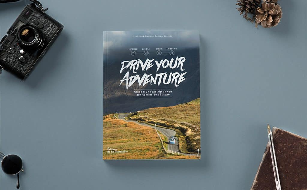 livre drive your adventure voyager en van bertrand lanneau