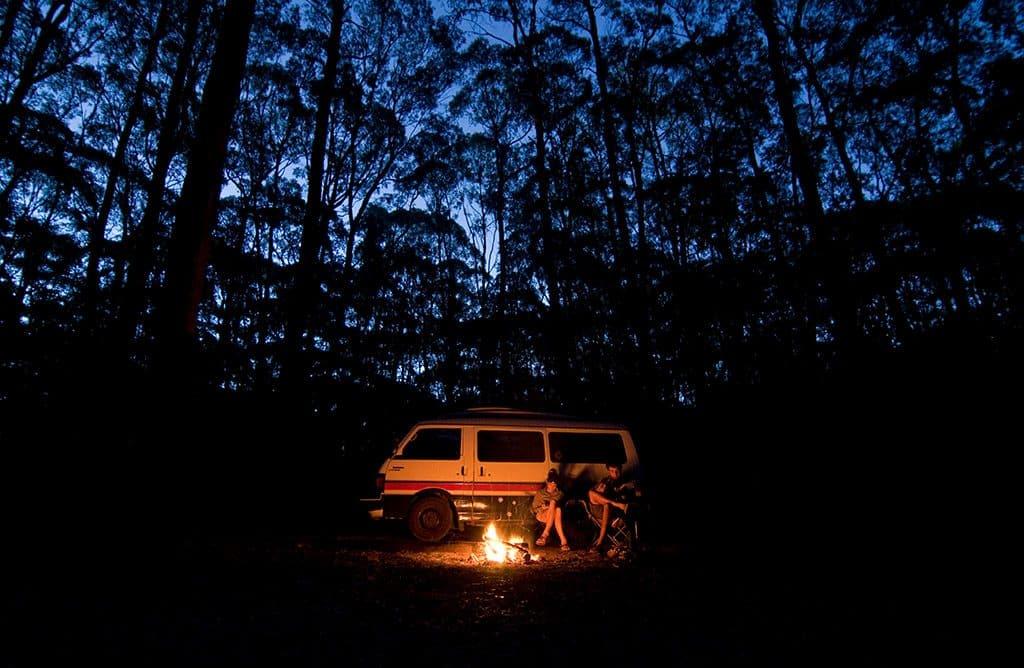 voyager en van australie