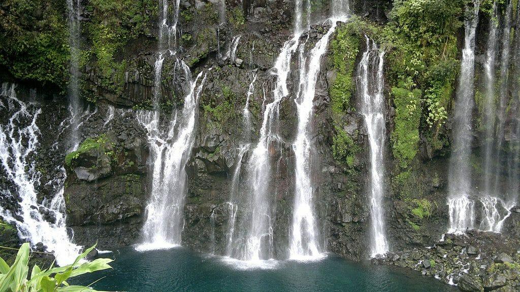 Cascade de Grand Galet à l'Ile de la Réunion