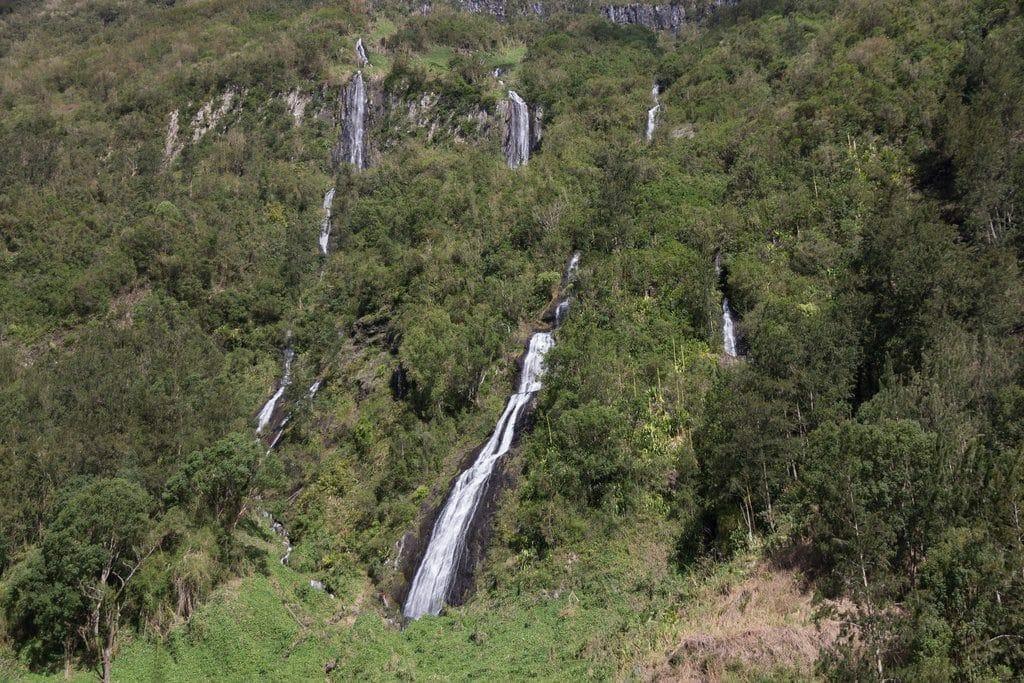 La légendaire cascade Le Voile de la Mariée à la Réunion