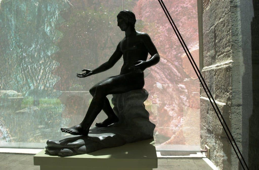 Statue au musée archéologique de Naples