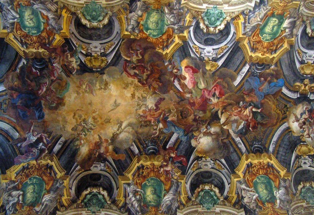 Fresque dans la chapelle Sansevero