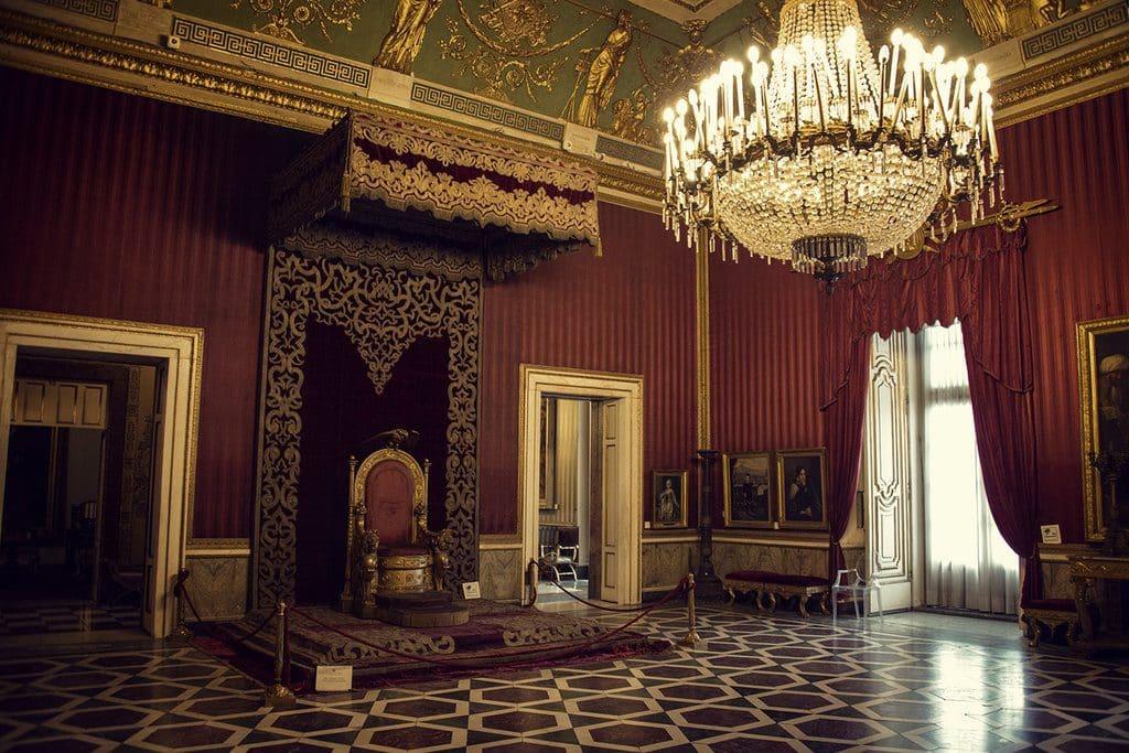 Une chambre du Palais Reale
