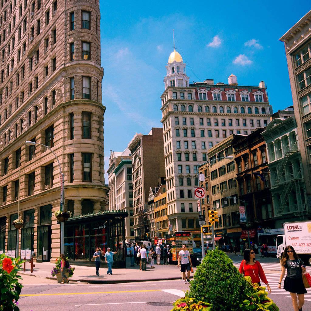 Manhattan et son célèbre immeuble triangulaire