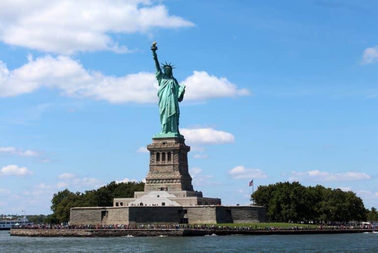 itinéraire pour visiter new york la célèbre Statue de la Liberté
