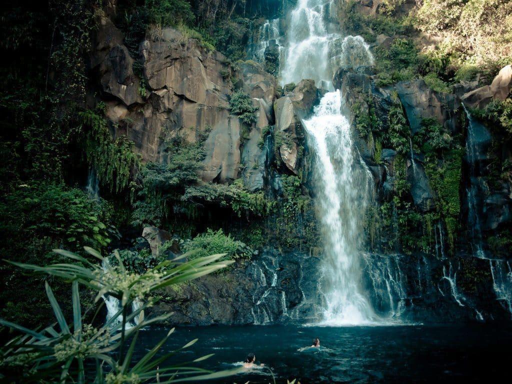 La Cascade des Aigrettes sur l'ile de la Réunion