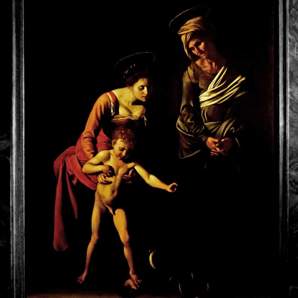 Galerie Borghese à Rome peinture
