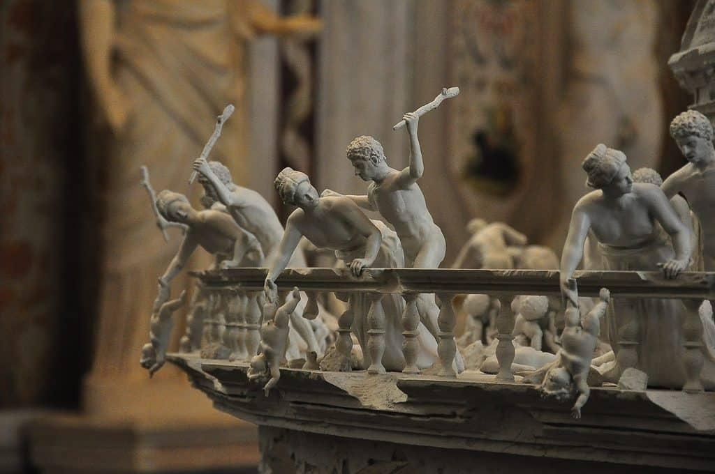 Sculpture à la Galerie Borghese