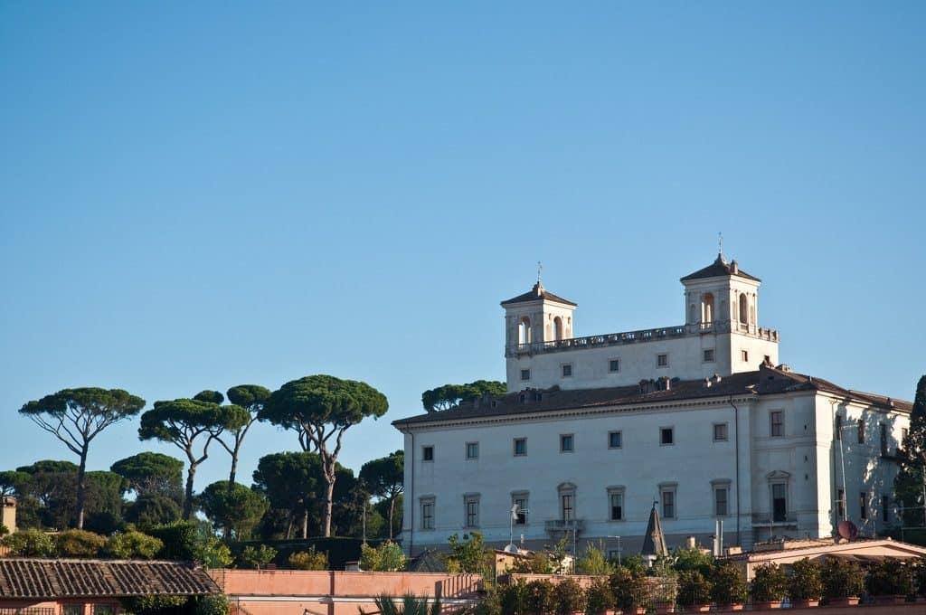 La Villa Médicis à Rome
