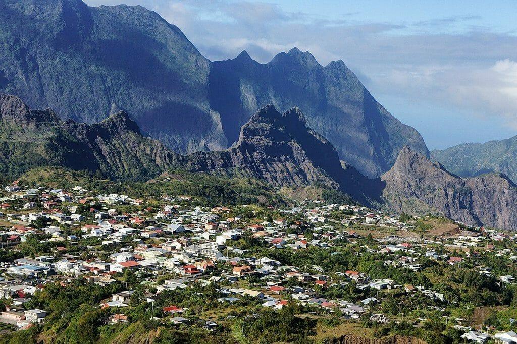 Calaos charmante ville sur la magnifique Ile de la Réunion