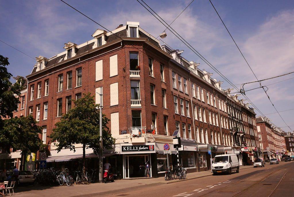 L'ancien quartier populaire du Pijp à Amsterdam