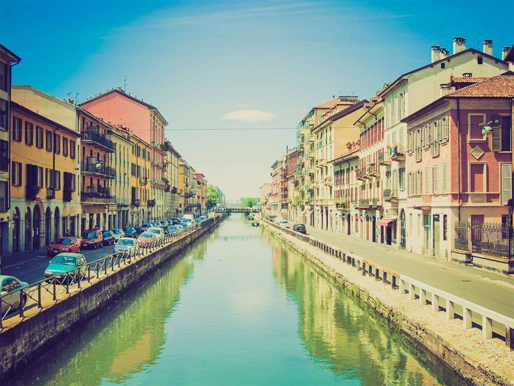 Canaux Navigli Milan