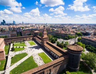 Chateau des Sforza Milan