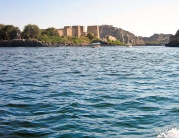 Croisière sur le Nil en Egypte, vue sur de magnifiques temples
