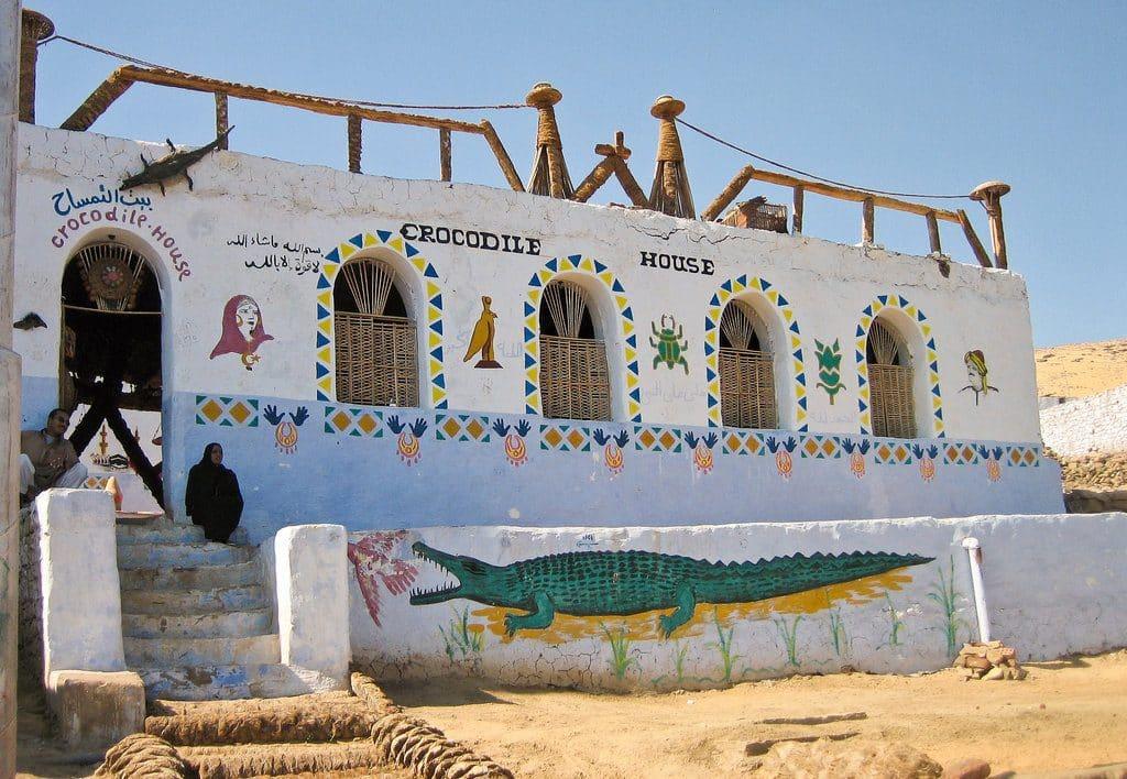 Joli village Nubian en Egypte