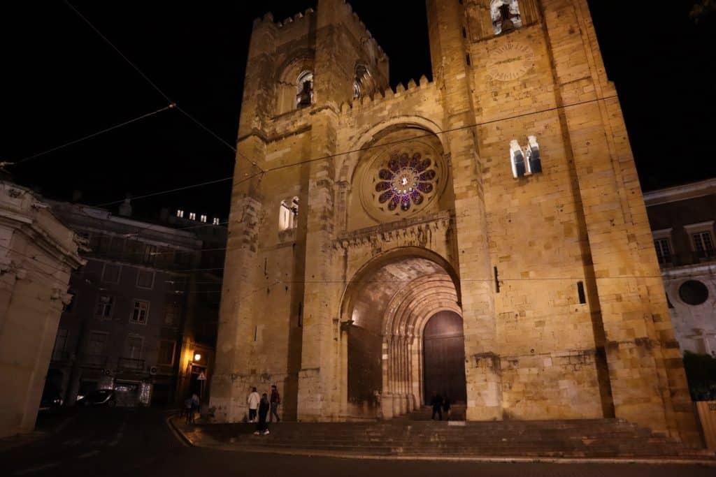 visite Lisbonne cathédrale se