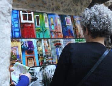 visite guidée à Lisbonne - peinture architecture
