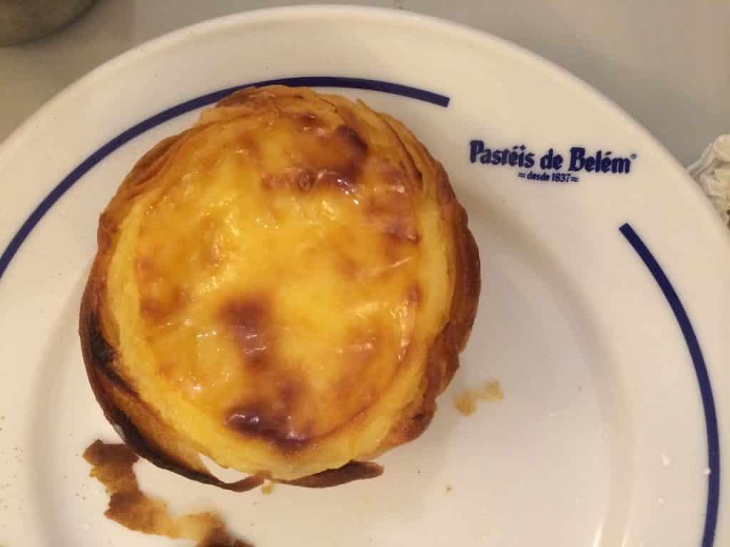 lisbonne pasteis de nata specialite locale