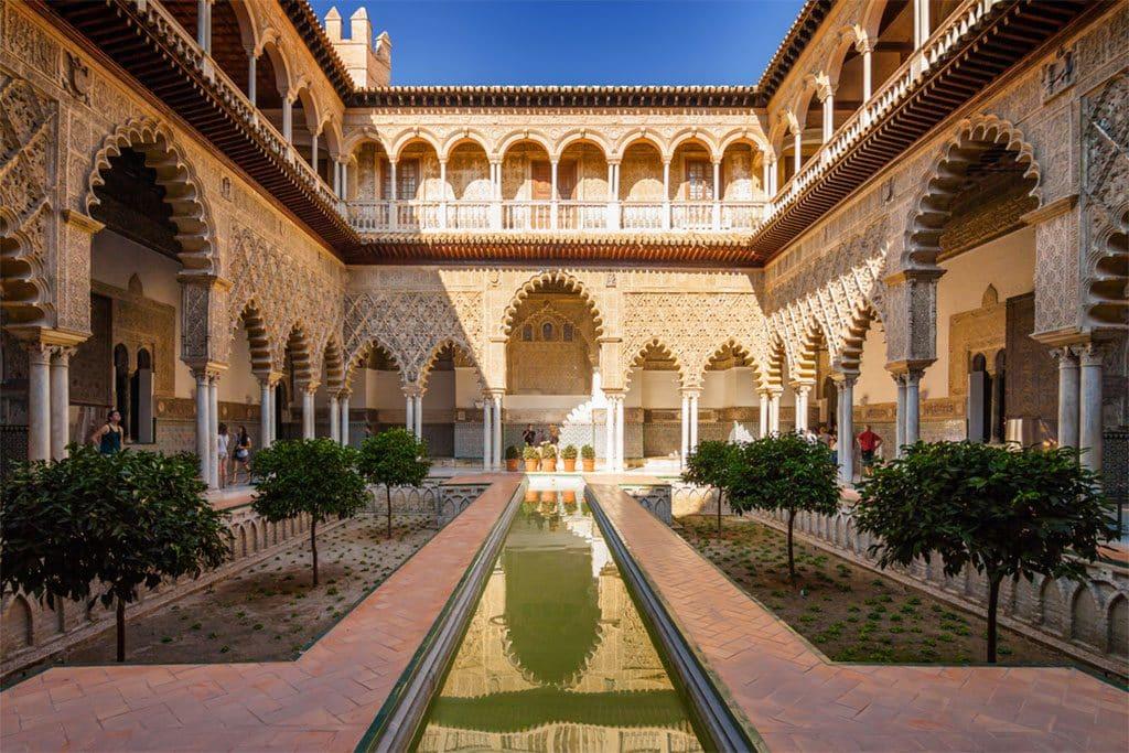 Seville Andalousie Alcazar Palace