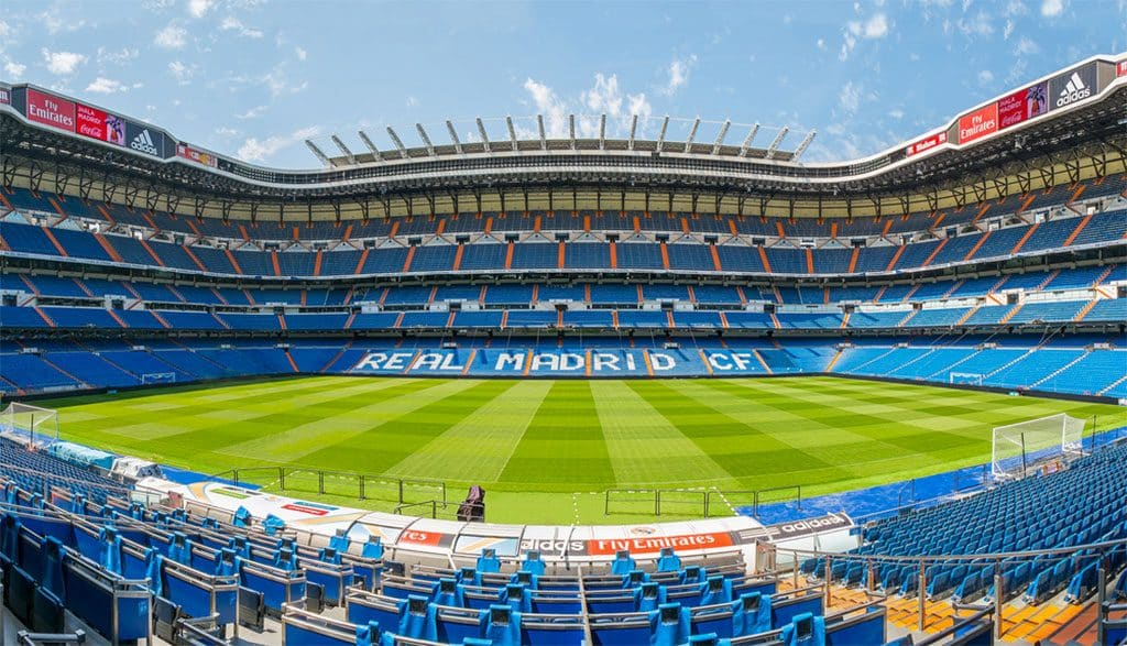 Stade Santiago Bernabeu Real Madrid