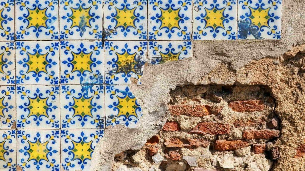 Lisbonne carreaux de faïence Azulejos