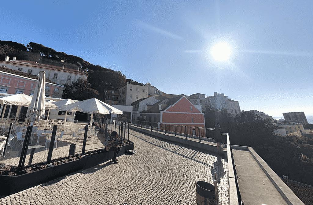 points de vue Terrasse Estacionamento do Chão do Loureiro