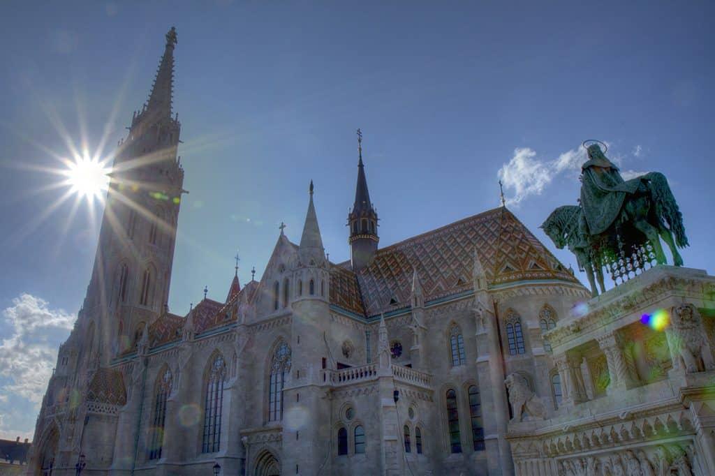 L'église Matthias