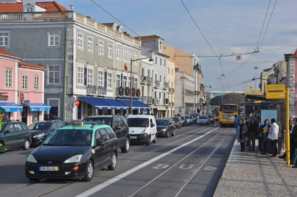 Taxis publics à Lisbonne