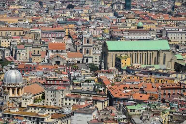 itinéraire pour visiter naples centre historique entre églises et palais