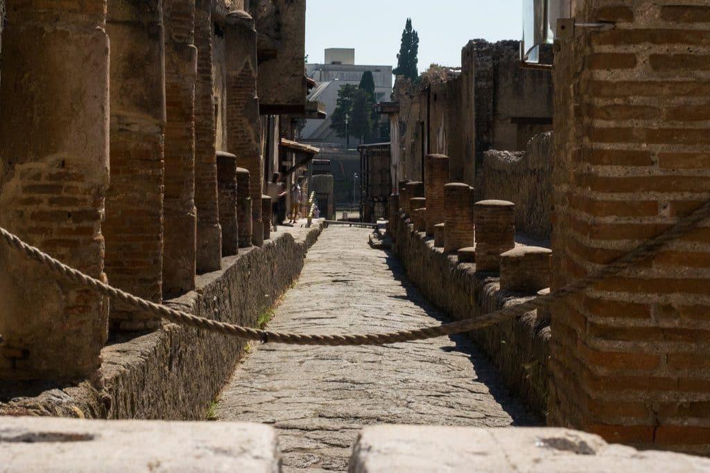 Ruines d'Herculaneum