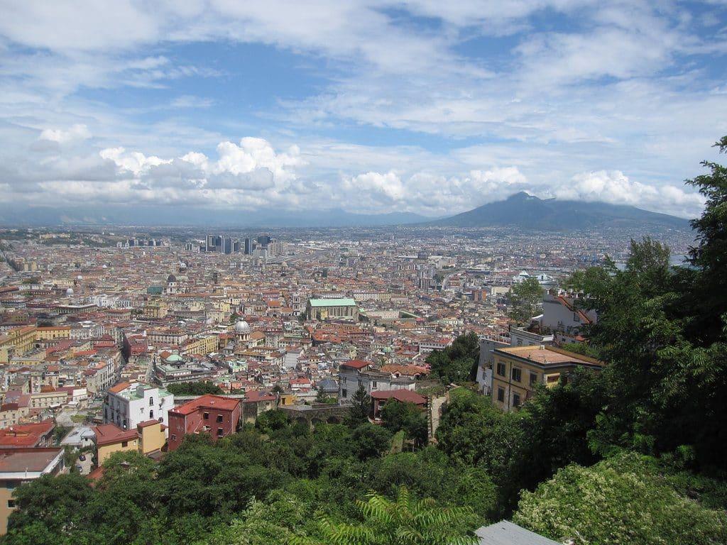 Les beaux de points de vue depuis Vomero