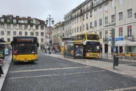 Les bus à Lisbonne
