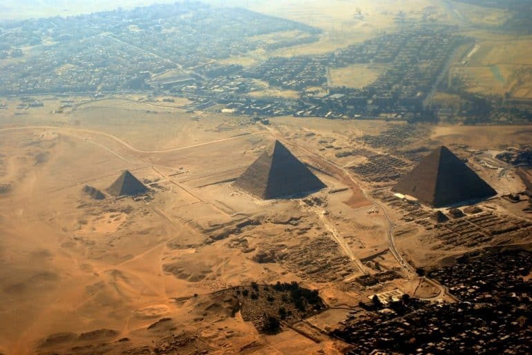 pyramides gyzeh egypte
