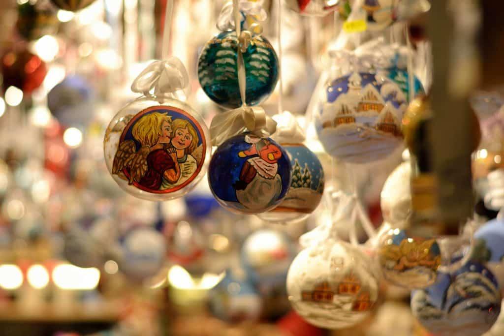 Décoration de Noel sur les marchés