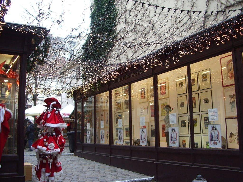 Marché de Noel plus animé à Spiettelberg