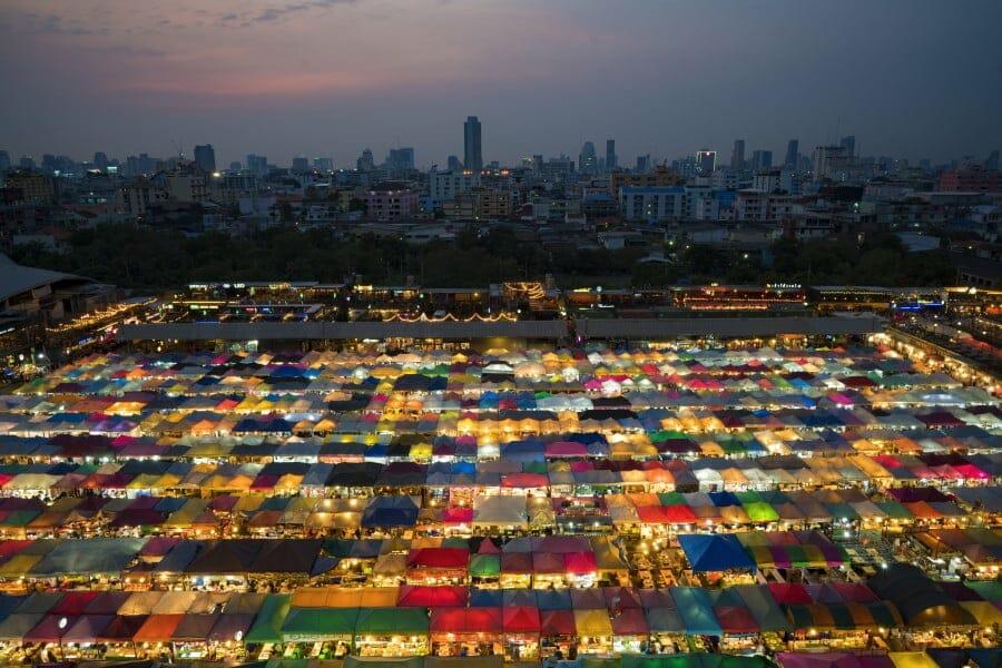 visiter bangkok la nuit