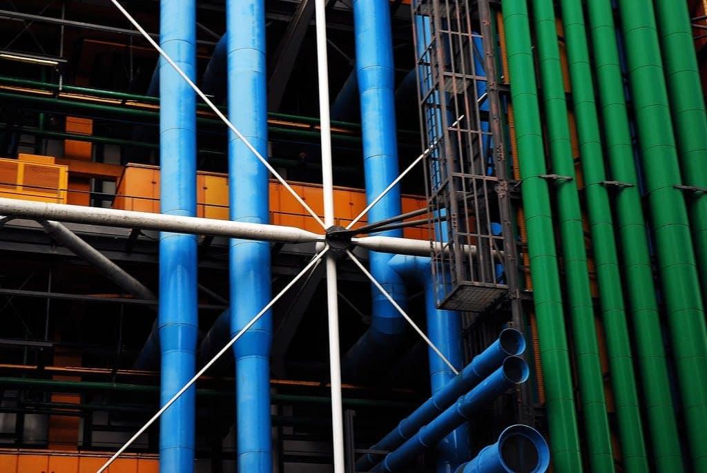 tuyaux Centre Pompidou
