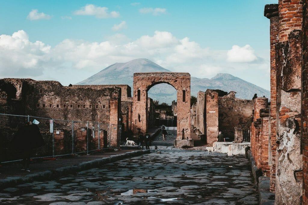 visiter pompei site archeologique