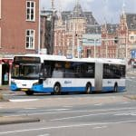 bus gvb transfert aeroport amsterdam