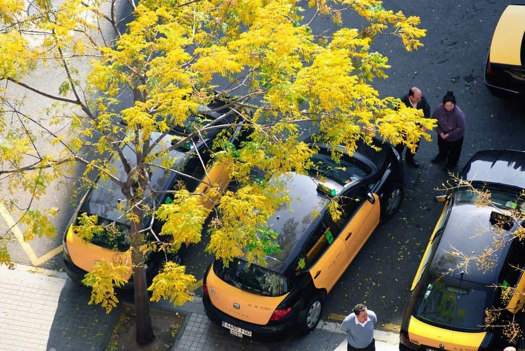 Se rendre au centre ville de Barcelone en taxi