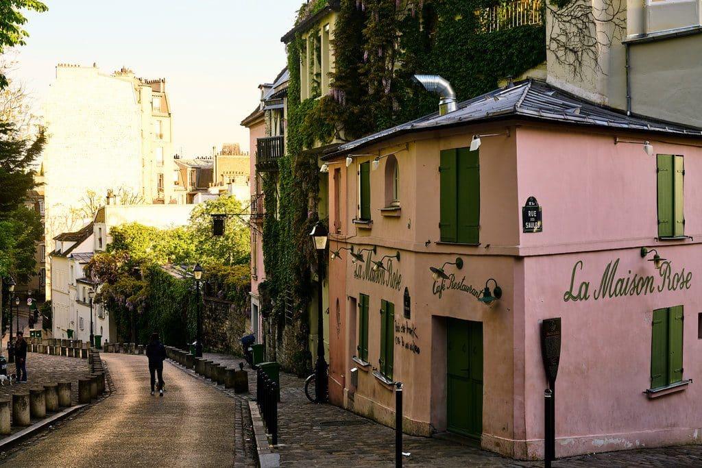Le quartier typique de Montmartre
